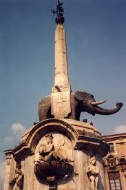 Catania Fontana dell'elefante